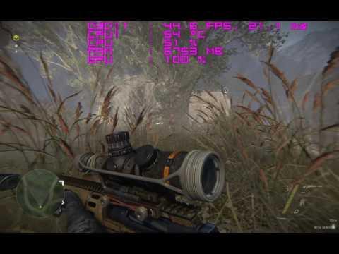 Sniper Ghost Warrior 3 Beta FX 8350|RX 480 Bench