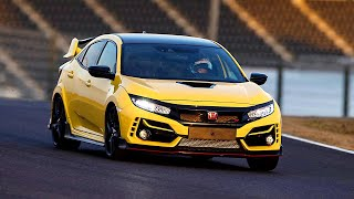 Honda Civic Type R Limited Edition (2021) Record Lap on the Suzuka Racetrack