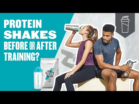 Should You Drink A Protein Shake Before Or After A Workout? | Myprotein