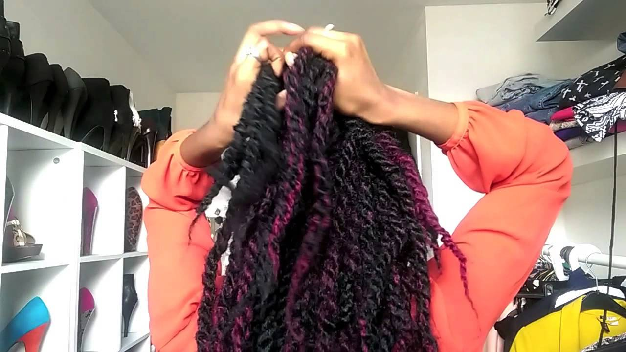 5 X Jumbo Twist/braids Hairstyles ( Dutch)