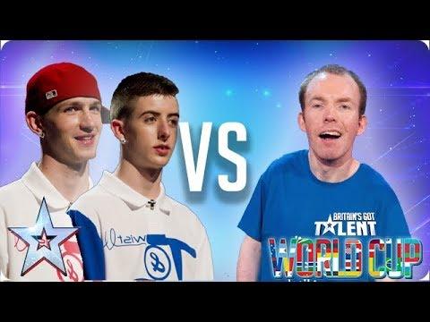 SEMI FINAL: Twist & Pulse vs Lost Voice Guy | Britain's Got Talent World Cup 2018