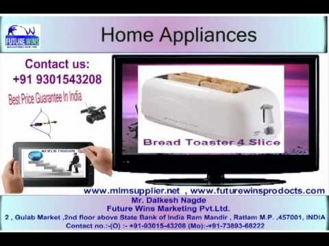 Home Appliances India mlm product supplier,call on 09301543208