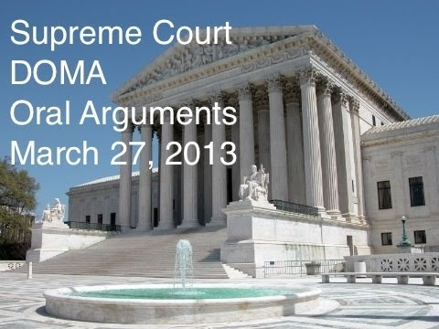 Supreme Court Hears Defense Of Marriage Act Arguments-Full Hearing-March 27, 2013