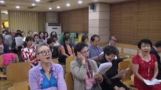 부산우리가곡연주협회 제35회정기연주회 타이틀곡 전체합창…
