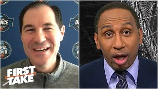 Stephen A. admits he was wrong to Baylor coach Scott Drew: It was 'sheer domination!' | First Take