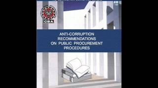 Anti-corruption recommendations on public procurement procedures