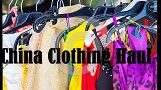 CHINA Online Shopping Haul: eBay, sheinside.com, and sammydress.com
