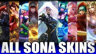 All Sona Skins Spotlight 2020 - Including PsyOps Sona