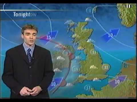ITV (Meridian) National Weather & Continuity 1998