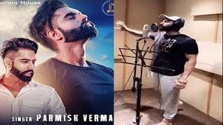 LE CHAKK MAIN AA GYA Behind The Scenes | Recording Song Parmise Verma in Studio | Live telecast |