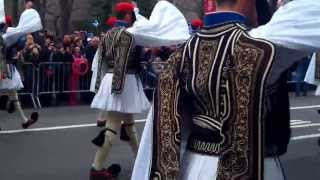 Greek Independence Parade ~NYC~2013~Greek Guards (Evzones) Marching~NYCParadelife