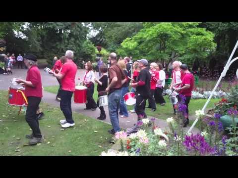 Swindon Samba, Sabba: Bandstand 21st September 2013