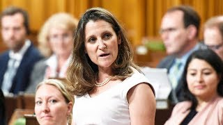 Question Period: Steel and aluminium tariffs, Trans Mountain & Energy East pipelines  — June 1, 2018