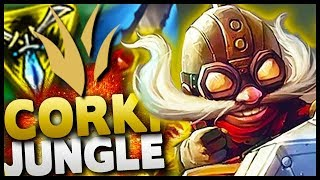 WOW! Corki Jungle is actually LEGIT - New patch makes him OP!
