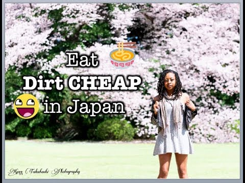 Eating DIRT CHEAP in Japan || Cheap and Easy Japan