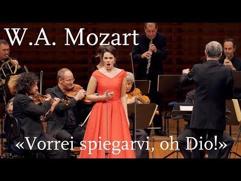 """W. A. Mozart: """"Vorrei spiegarvi, oh Dio!"""", K. 418   Regula Mühlemann"""