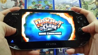 PS Vita - Ratchet & Clank 2 Going Commando Gameplay