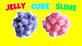 Como hacer Jelly Cube Slime, Satisfying Slime ASMR Video!