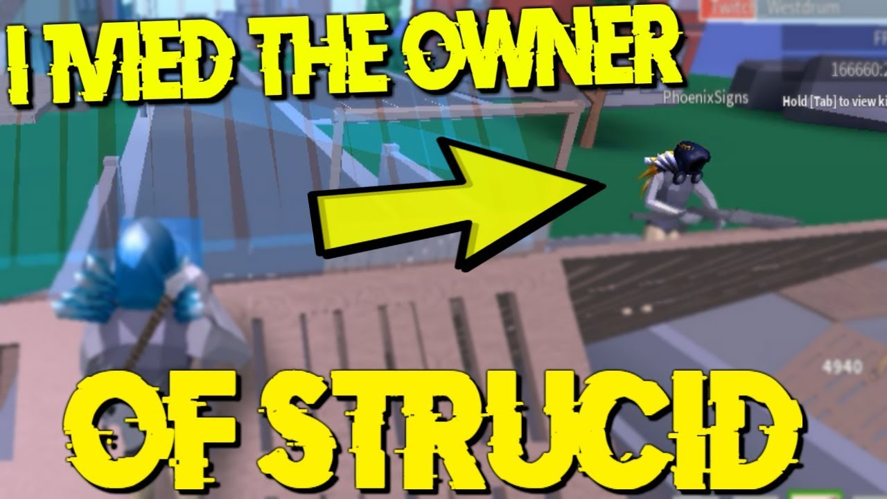 I 1V1ED THE OWNER OF STRUCID... (Roblox Fortnite) - YouTube