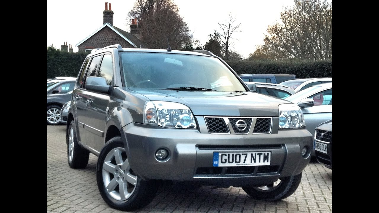 nissan x trail 2 2 dci 136 columbia 5dr sold by cmc cars youtube. Black Bedroom Furniture Sets. Home Design Ideas