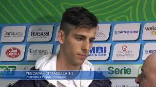 Pescara - Cittadella 1-2: Filippo Melegoni