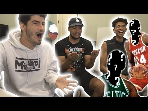 NBA GUESS THAT LEGEND PLAYER!! ft. Kris London and ZackTTG
