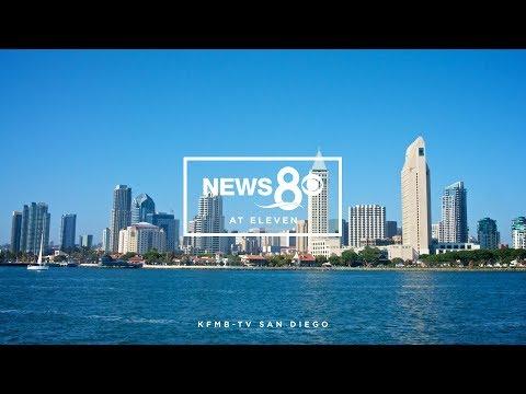 [Tegna 2017 Graphic Mock] KFMB-TV - News 8 at Eleven Open