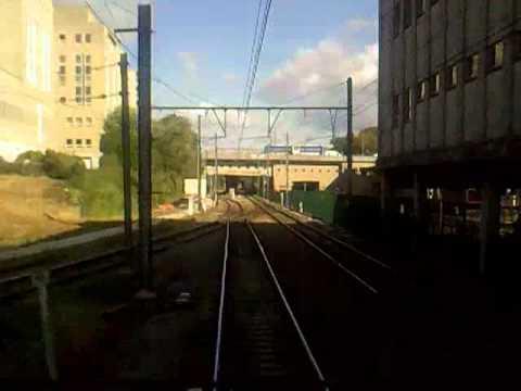 Belgian Railway time-lapse