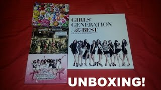 SNSD Unboxing P1 - The Best Complete Edition, Repackage The Boys, Love & Peace, 1st Asia Tour