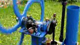 gas engine starting up