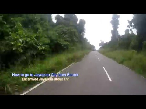 Crossing from PNG to Indonesia (Vanimo to Jayapura )