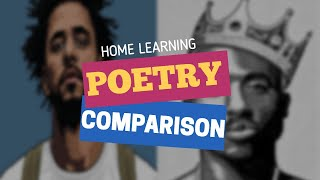 Home Learning Lesson 1: Poetry Comparison