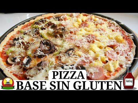 ¡¡DELICIOSA PIZZA CON BASE DE OKARA DE CACAHUATE (MANÍ)!! -Transición Vegana