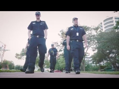 Northern Territory Police & Fire Running Man Challenge