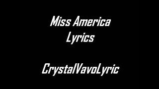 Ingrid Michaelson   Miss America feat Sara Bareilles lyrics By Crystal VevoLyirc