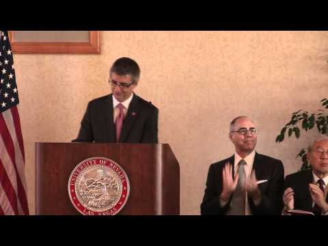 UNLV Lee Business School Gift Announcement