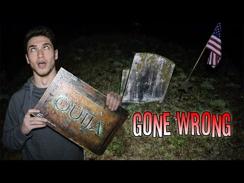 OUIJA BOARD IN A CEMETERY GONE TERRIBLY WRONG ( HE GOT POSSESSED )