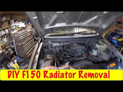 Diy F150 Radiator Removal 2004 2008 Youtube