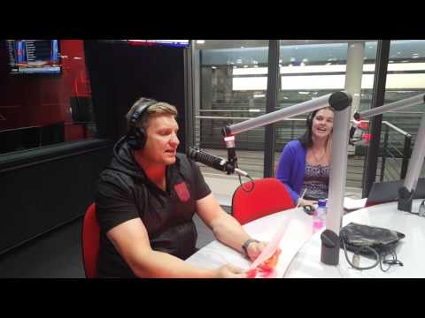 Kurt Darren in studio with The Afternoon Delight on OFM - The sound of your life.