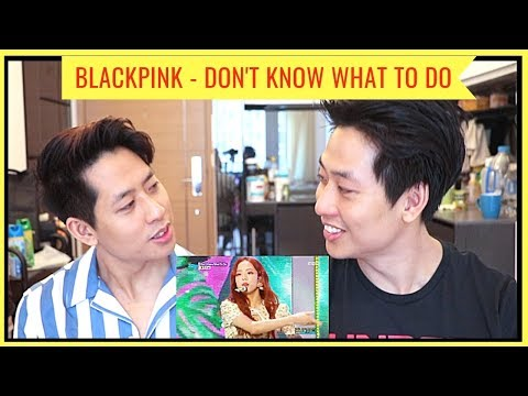 BLACKPINK 'DON'T KNOW WHAT TO DO' LIVE COMEBACK STAGE REACTION 블랙핑크 (KPOP TWINS REACT)