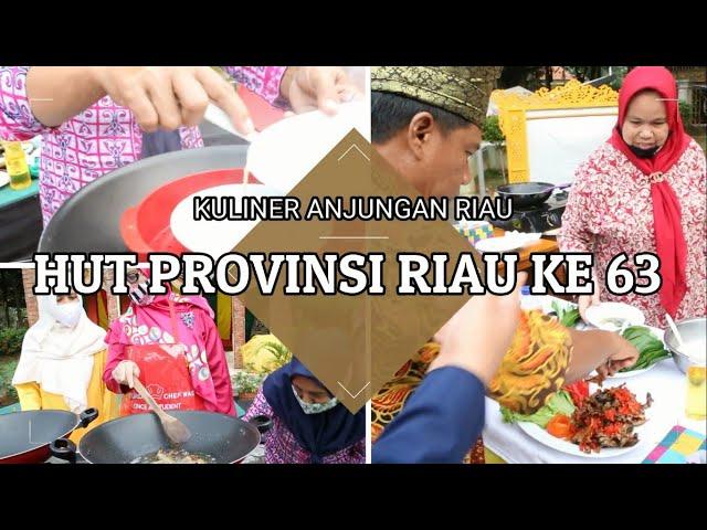 Memasak Kuliner Khas Provinsi Riau || Anjungan Riau