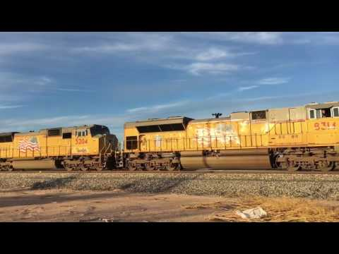 Weekend railfanning on the the Union Pacific Sunset Route!
