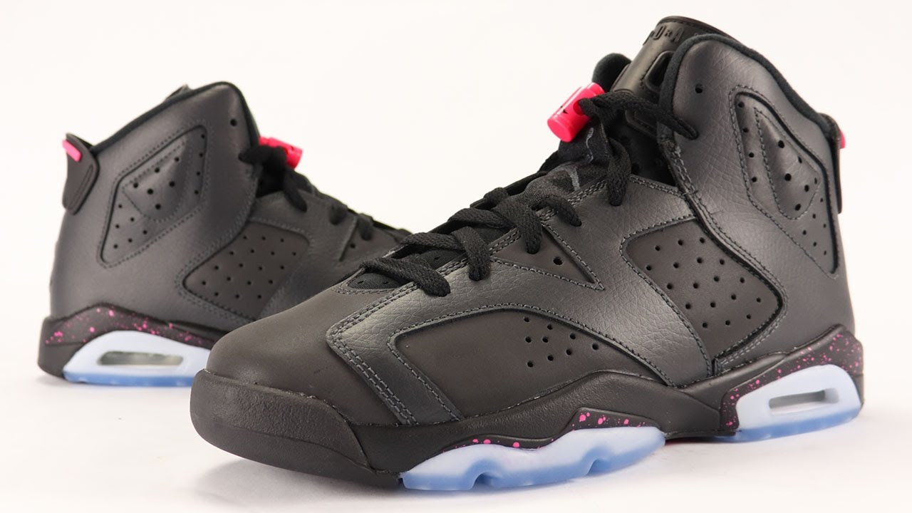huge discount b6016 da277 Air Jordan 6 Hyper Pink 3M Review - YouTube