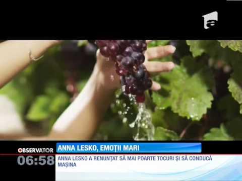Anna Lesko va deveni mămică pentru prima oară