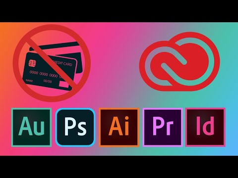 Install Adobe Creative Cloud Trials WITHOUT A Credit Card.