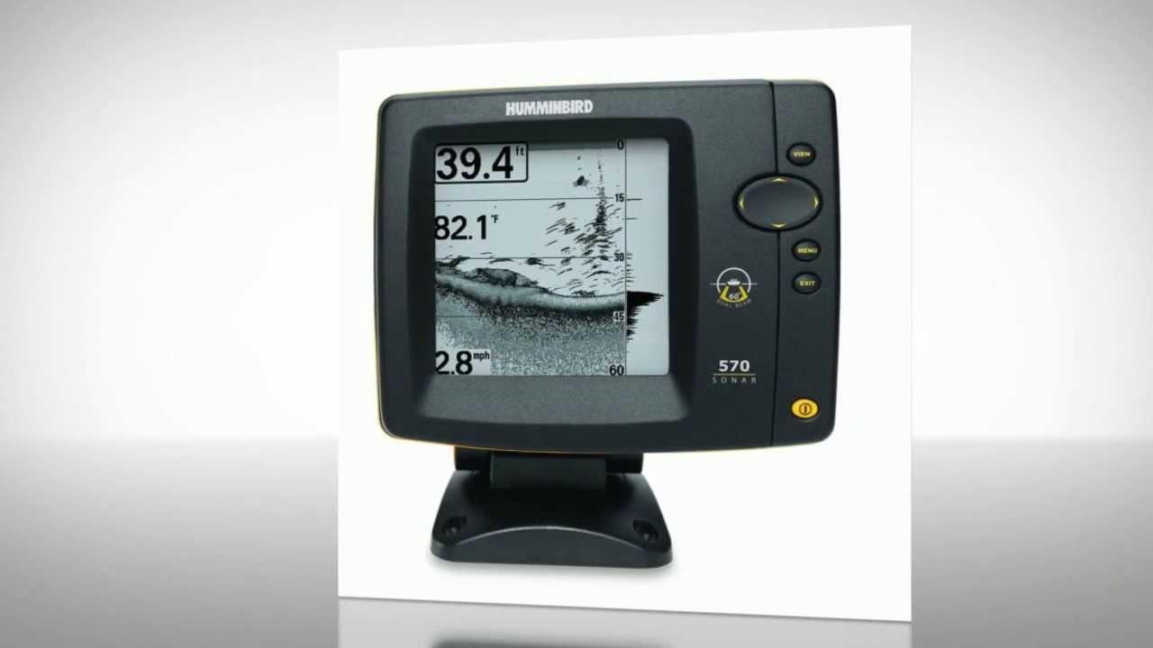 Humminbird 570 switchfire sonar fish finder reviews.