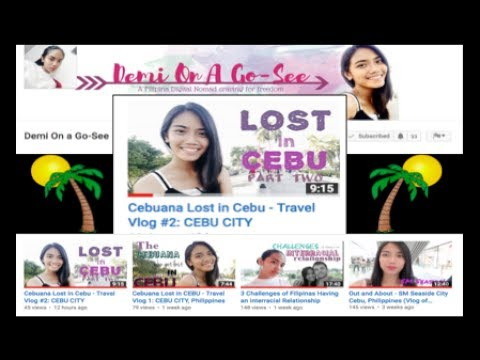 New Filipina Travel Vlogger on the Scene in Cebu City Philippines ✅