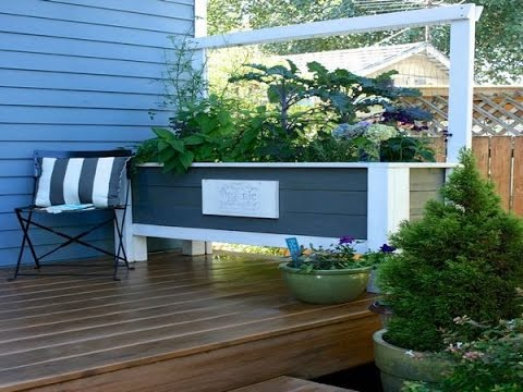 Planter Boxes Made Of Pvc, Building Garden Boxes From Composite Decking  Plans