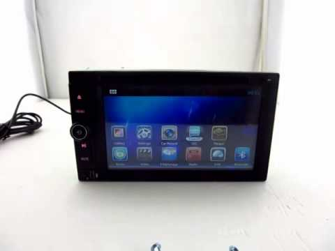 Pure android 4 2 car stereo dvd player cpu 1 6ghz ddr3 1gb memory 8gb - 2 Din Youtube