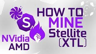 How To Mine Stellite (XTL) For Nvidia & AMD GPU
